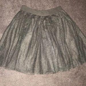 Women's tulle party skirt